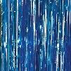 Light Blue Foil Curtains