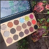 New Hot Factory Pirce Glamierre Solar Glow Eyeshadow Palette 18 ultra Pigmented Glitter Shimmer Shades DHL