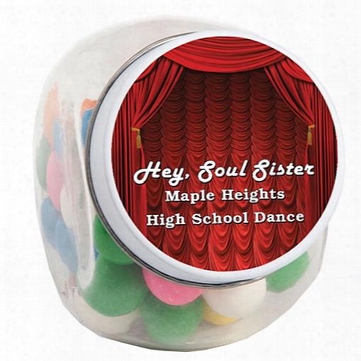 Stage Curtain Diamonds Candy Jar