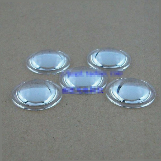 Wholesale-100pcs/lot Pmma 20mm Plano-convex Led Lens