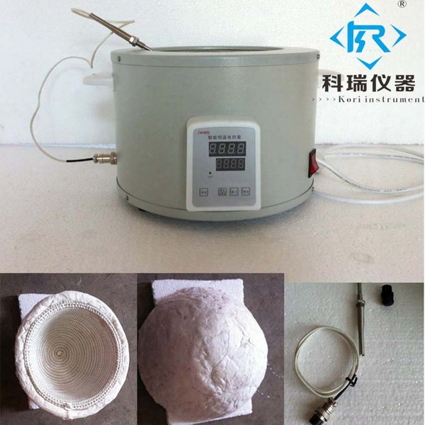 Wholesale- Znhw-ii-1000ml Heating Mantle/ Electronic Lab Mantles / Laboratory Heating Sleeves With Thermocouple Probe