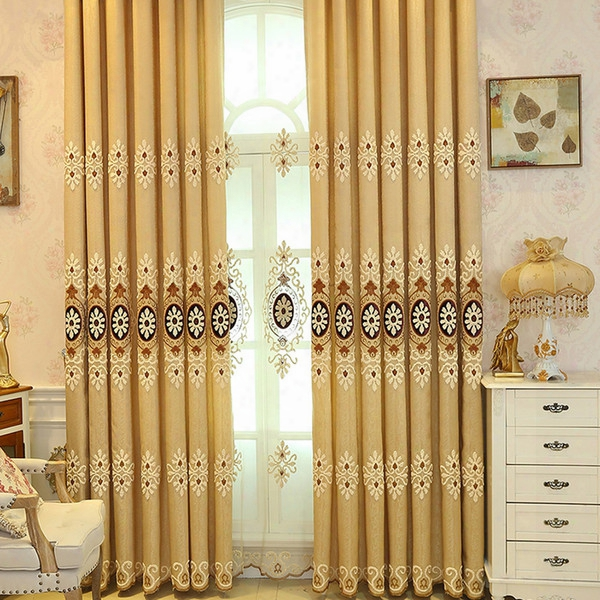 Blackout Curtains Contemporary Window Treatments For Bay Windows Living Room Bedroom Curtain 42w/50w/72w 1 Panel Cloth 1 Panel Gauze