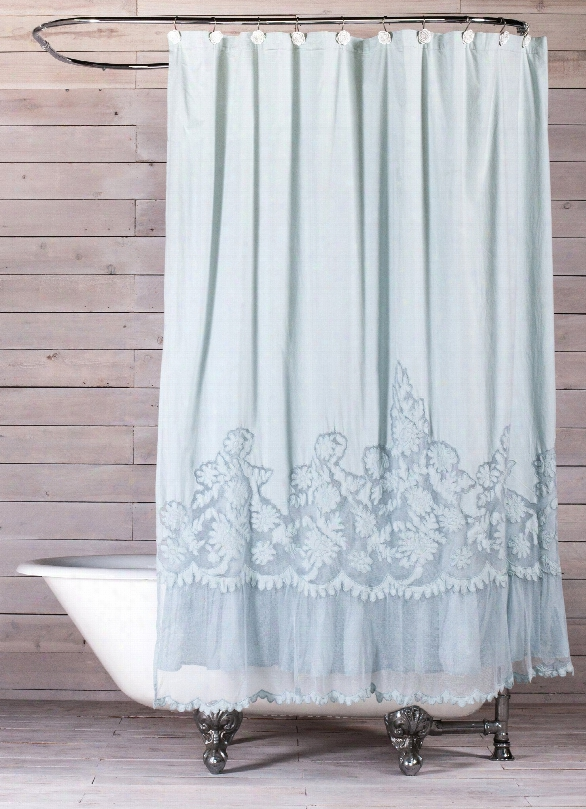 Caprice Shower Curtain Design By Pom Pom At Home