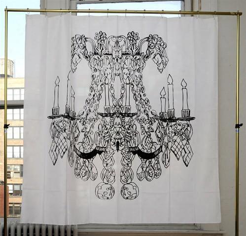 Chandelier Shower Curtain By Alexa Pulitzer Design By Izola