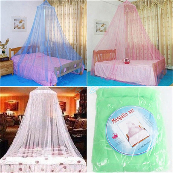 Hot 1pc Elegant Round Lace Insect Bed Canopy Netting Curtain Princess Students Outdoor Hang Dome Mosquito Nets Hot Mosquiterios De Teto