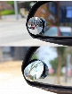 2PCS Car Rear view mirror small round mirror Blind spot mirror Wide-angle lens 360 Degrees adjustable Rear view auxiliary