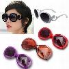 Feitong Vintage UV400 Fashion Girl Classic Designer Retro Eyewear Eyeglasses Oversized Shades Sunglasses For Women Free Shipping