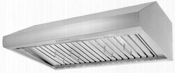"Hrh3606u 36"" Pro Style Unde Cabinet Range Hood With 4 Fan Speeds 2 Led Lamps 900 Cfm Airflow Dishwasher Safe Stainless Steel Baffle Filters"