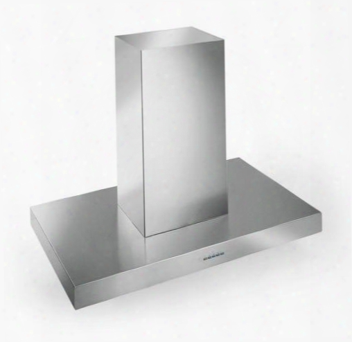 "Is48positano 48"" Positano Series Range Hood With 940 Cfm 4-speed Electronic Controls Delayed Shut-off Ffilter Cleaning Reminder And In Stainless"