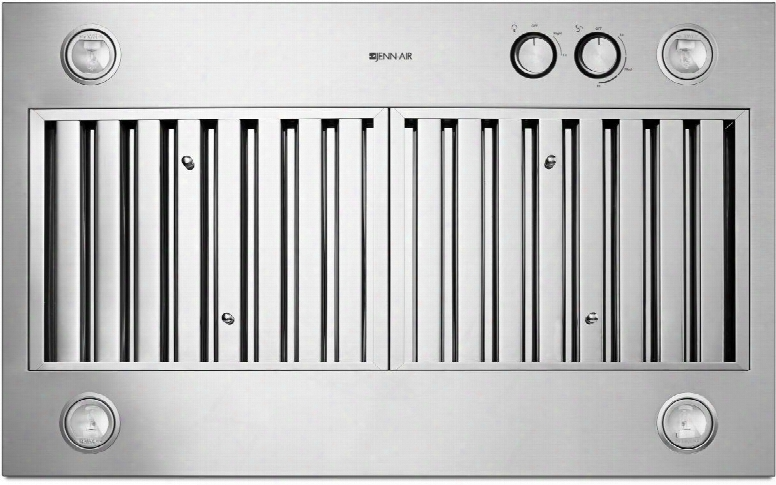 """Jxl6536css Jxl6536css 36"""" Custom Hood Liner With Dishwasher-safe Stainless Steel Baffle Filters Auto On Knob Controls 3 Fan Speed Settings Halogen"""