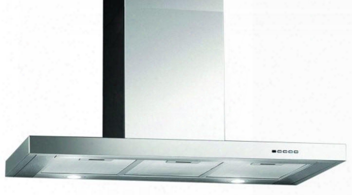"Mcrh30s 30"" Commercially Approved Wall Mount Range Hood With 600 Cfm 51-70 Db 4 Speed Control Halogen Lighting And Dishwasher Safe Grease Filters: Stainless"