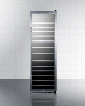 """SWC1987T 24"""" Triple Zone Wine Cooler with 133 Bottle Capacity LED Lighting Factory Installed Lock Active Carbon Filter in Stainless"""
