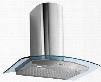 "WL36MOONCRYS 36"" Moon Crystal Wall Range Hood offers 940 CFM 4-Speed Electronic Controls Delayed Shut-Off Filter Cleaning Reminder and in Stainless"