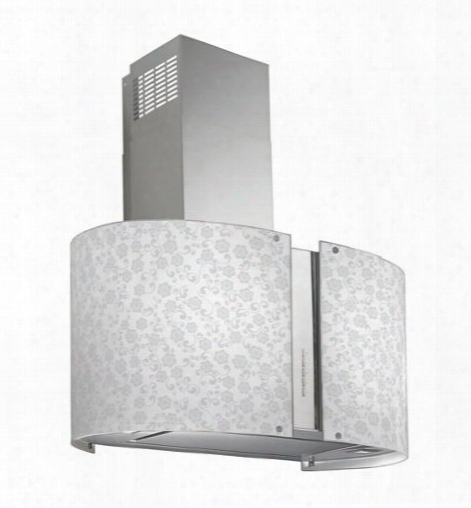 "Wl27murmayflowerled 27"" Murano Mayflower Series Range Cover Offer 940 Cfm 4-speed Electronic Controls Delayed Shut-off Filter Cleaning Reminder And In"