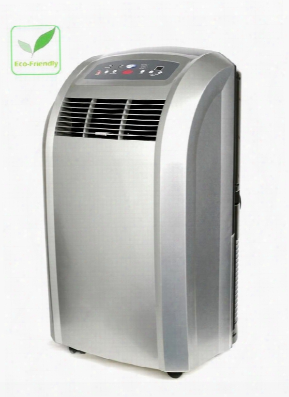 Arc-12s Eco-friendly Portable Air Conditioner With 12000 Btu Cooling Capacity Remote Controll 91 Pts Daily Dehumidifying Capacity Carbon Air Filter Washable