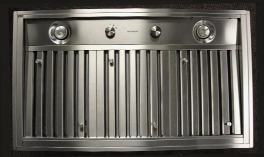 "Inpl4219ss Built-in Collection Inca Pro 42"" Range Hood Insert Optional Blowers Convertible Ventilation 2 - 45 Watt  Halogen Lights Dishwasher Safe Filters:"