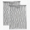 """BPP3FA42 Aluminum Replacement Grease Filter with Antimicrobial Protection For 42"""" QP3"""