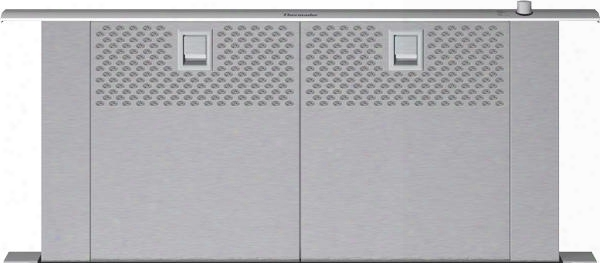"Ucvm30fs 30"" Csa Certified Masterpiece Series Downdraft Ventilation With 13"" Rise Dishwasher Safe Full Face Filters Downdraft Recirculation Option And 3 Fan"