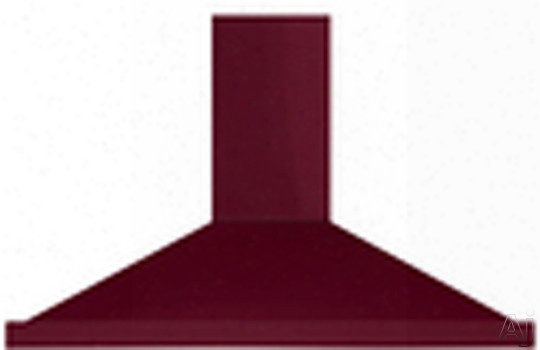 Aga Amchd44crn Wall Mount Canopy Chimney Range Hood With 600 Cfm Blower, Charcoal Filters, Halogen Lights And Recirculation Kit: Cranberry