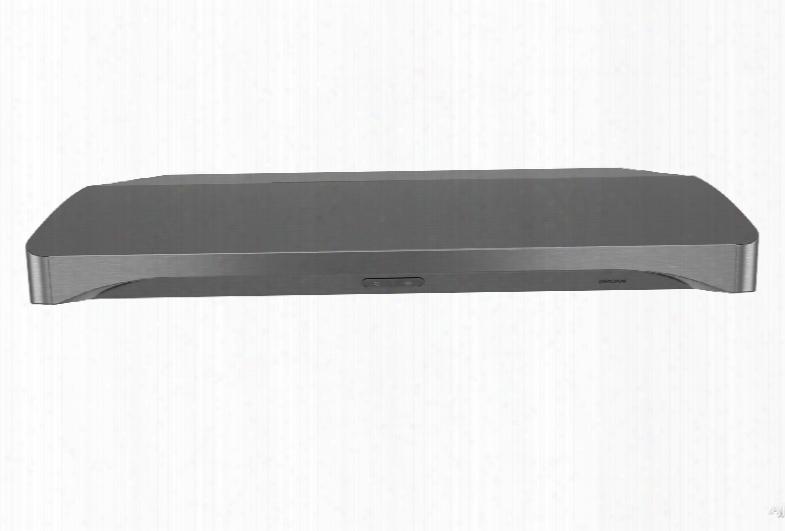 Broan Alta Bqdd136 36 Inch Under Cabinet Range Hood With Capturã¢â�žâ¢ Scheme, Micro Mesh Filter, 2-level Led Lighting, Capacitive Touch Controls, 300 Cfm Blower And 1.2 Sines Noise Leevl