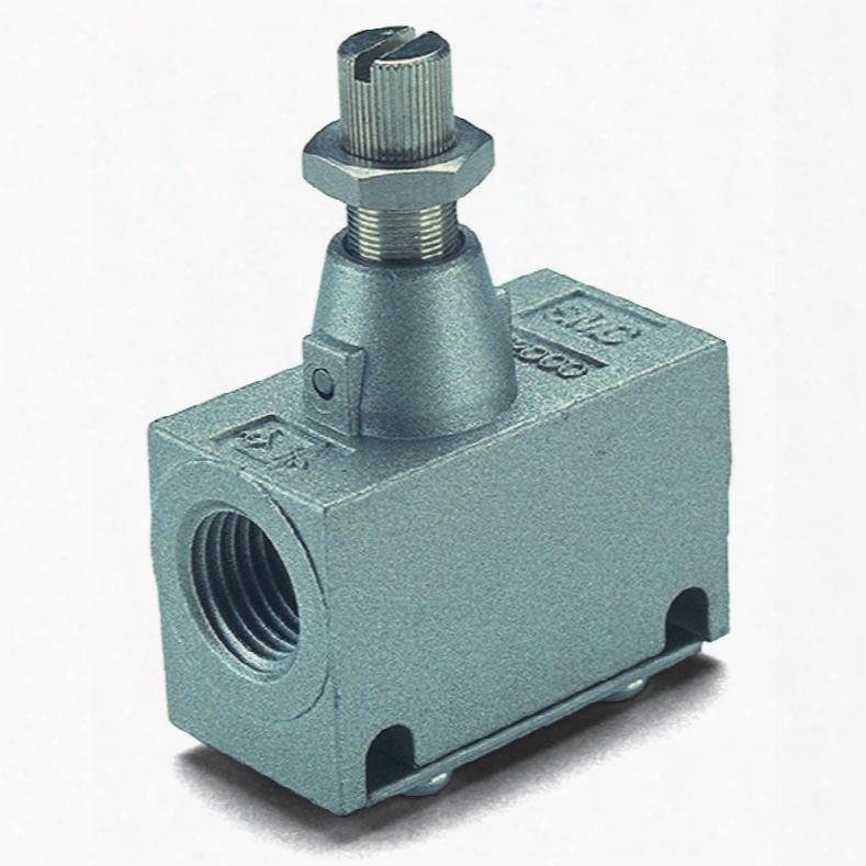 Smc Eas2000-f02 Pneumatic In-line Flow Regulator 1/4