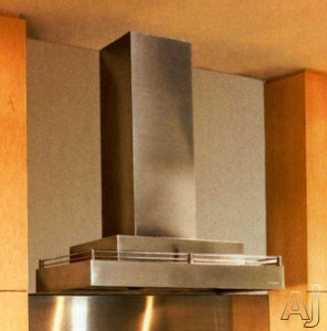 Vent-a-hood Contemporary Series Cwlh9 Stainless Steel Wall Mount Range Hood With Internal Blower, Halogen Lighting, Galley Rail, Magic Lung Filter-less And Sensasource