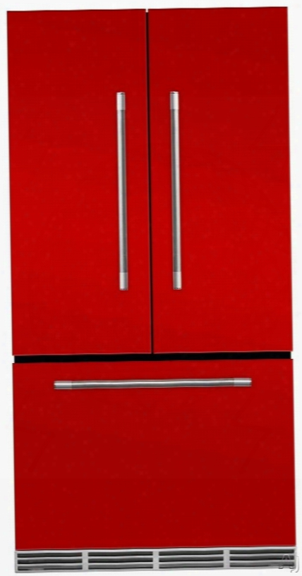 Aga Mercury Mmcfdr23scr 36 Inch Counter Depth French Door Refrigerator With Storage Drawer With 12 Temperature Settings, Ice Maker, Ice/water Filters, Cantilever Glass Shelves, Gallon Door Stroage, Wine Rack, Can Racks, Star-k Sabbath Mode And 2.6 Cu Ft C