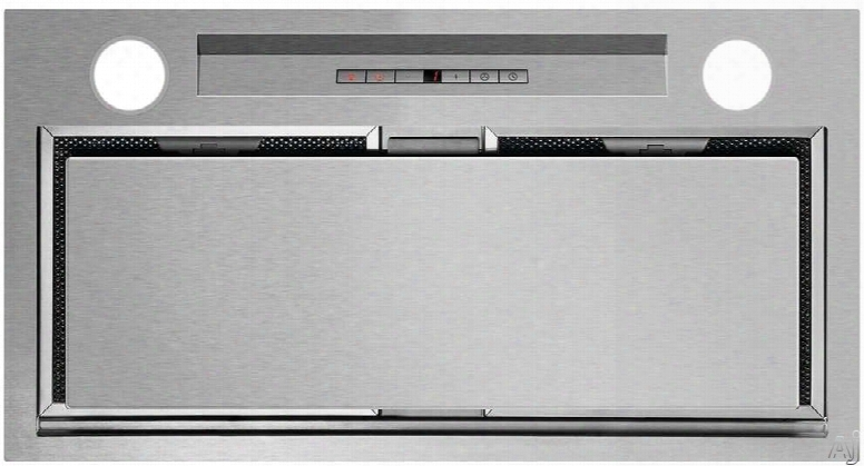 Fisher & Paykel Hp24iltx1 24 Inch Cabinet Insert Hood With Four Fan Speeds, Dishwasher Safe Filters, Halogen Lights, Soft-touch Buttons And 600 Cfm