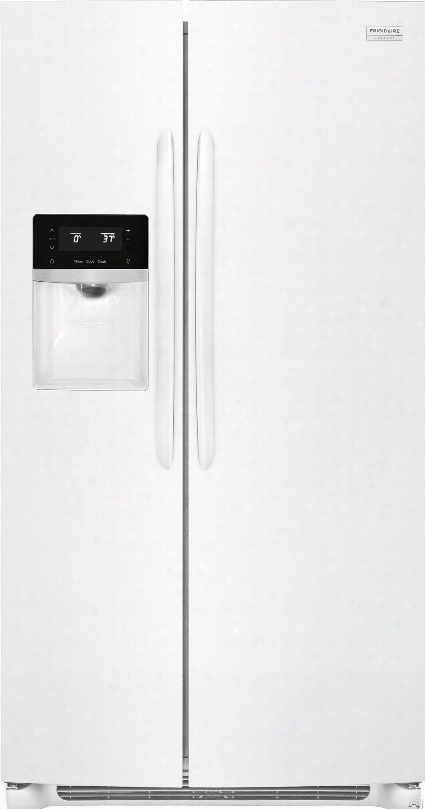 Frigidaire Gallery Series Fgss2635tp 36 Inch Side By Side Refrigerator With Puresource Ultraã'â® Ii Filtration, Pureair Ultraã'â® Filters, Chill Drawer Store-moreã¢â�žâ¢ Crispers, Store-moreã¢â�žâ¢ Gallon Door Bins, Store-moreã¢â�žâ¢ Glass Shelves, Multi-