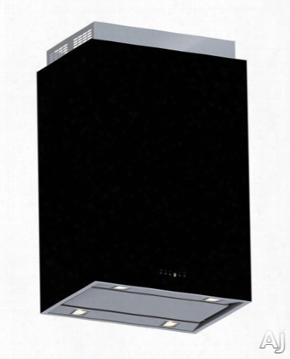 Futuro Futuro Lombardy Series Is24lombardyblkh29 24 Inch Island Chimney Hood With 940 Cfm Internal Blower Included, 4 Speeds, 0.5 - 3.2 Sones, Led Lighting, Dishwasher Safe Metal Mesh Filters, Clean Filter Reminder, Delayed Shut-off Timer And Electronic C