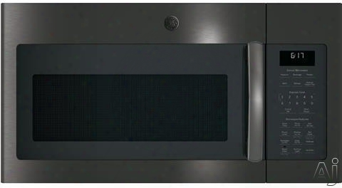 Ge Jvm6175xk 1.7 Cu. Ft. Over-the-range Microwave With 1,000 Watts, 300 Cfm Ventilation, 10 Power Levels, Sensor Cooking, Melt Feature, Add 30 Seconds Button, Weight And Time Defrost, Clock And Timer And Charcoal Filter