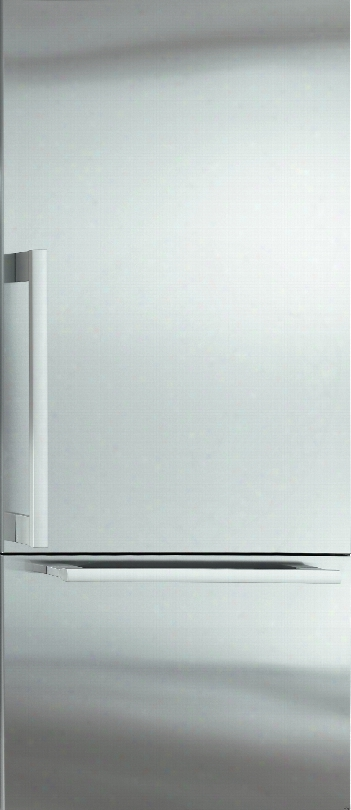 Miele Mastercool Series Kf1903sf 36 Inch Built-in Bottom-freezer Refrigerator With Rapidcool Loading, Remotevision Capable, Clearview Lighting, 18 Cu. Ft. Capacity, Cleantouch Steel, Filtered Ice Maker And Energy Star Rated