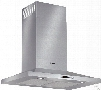Bosch 300 Series HCP30651UC 30 Inch Wall Mount Chimney Range Hood with Recirculating Option, Heat Sensor, Dishwasher Safe Filters, 600 CFM Blower, LCD Touch Controls, Built-in Timer and Halogen Lights