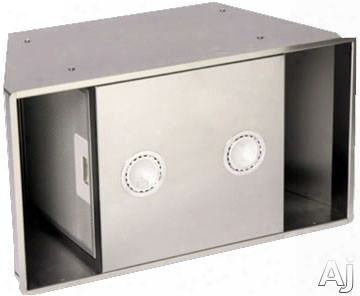 Sirius Built-in Series Sut900 Under Cabinet Insert With 600 Cfm Internal Blower, Remote Control, Dishwasher-safe Anodized Aluminum Grease Filter, Halogen Lights, Recirculating Option And 63 Dba 4.9 Sones Sound Ratings