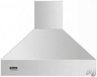 Viking Professional 5 Series Vcih53608 36 Inch Island Mount Chimney Range Hood With Optional Blowers, Variable Fan Speeds, Heat Sensor, Dimmable Led Lighting, Backlit Led Knobs And Commercial-type Filters