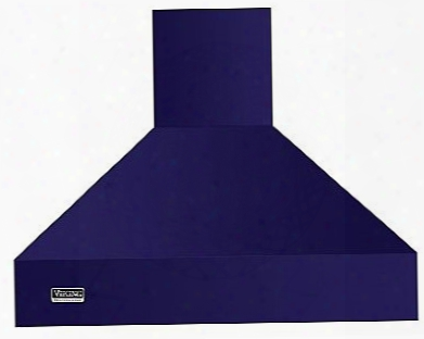 Viking Professional 5 Series Vcih53608cb 36 Inch Island Mount Chimney Range Hood With Optional Blowers, Variable Fan Speeds, Heat Sensor, Dimmable Led Lighting, Backlit Led Knobs And Commercial-type Filters: Cobalt Blue