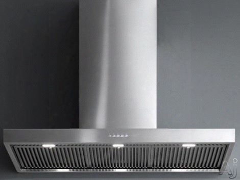 Futuro Futuro Marino Series Wl36marino 36 Inch Wall Mount Range Hood With 940 Cfm Internal Blower, 4 Fan Speeds, 0.5 - 3.2 Sones, Led Lighting, Dishwasher Safe Heavy-duty Baffle Filters And Electronic Illuminated Control Panel