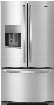 Whirlpool WRF555SDFZ 36 Inch French Door Refrigerator with Fingerprint Resistant Finish, EveryDrop™ Filter, Ice and Water Dispenser, Spillproof Shelves, Gallon Door Bins, Temperature-Controlled Drawer, ADA Compliant, ENERGY STAR® and 25 cu. ft. C