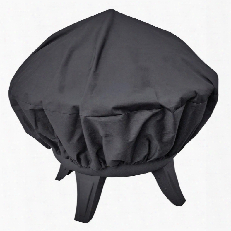 29370 Tall Haywood Fireplace Cover With Bottom Drawstring And Pvc Material In