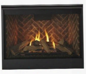"Meridian Series Dbdv42il 48"" Liquid Propane Fireplace With 42"" Viewing Area Up To 34 000 Btu And Intellifire Plus Ipi Ignition"