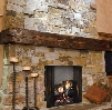 """Ashland Series ASH42 42"""" Wood Burning Fireplace with Full Refractory Lining and Dual Gas Knockouts UL and ULC"""