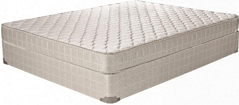 "Santa Barbara Ii Colletcion 350052f Full Size 6"" Mattress With Quilted Top Upholstery Made In Usa Federal Fire Retardant Safety Standard And High Quality"