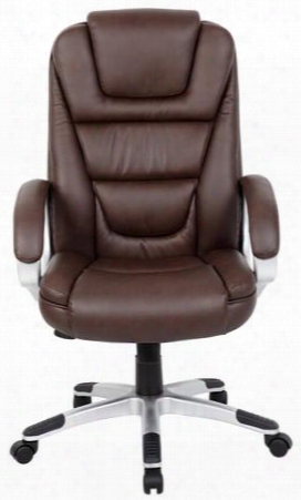 """B8601-bb 45"""" Executive Chair With Waterfall Seat Design Upright Locking Position Adjustable Tilt Tension Seat Height Adjustment In"""