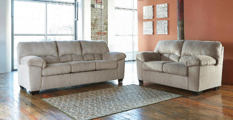 Dailey 95401l 2-piece Living Room Set With Sofa And Loveseat In