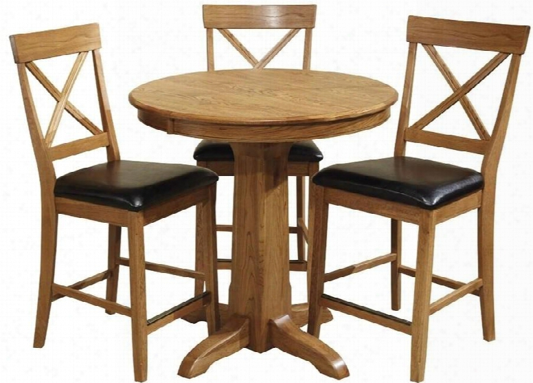 "Family Dining Fd-ta-l36gs-cnt-c 36"" Dining Room Gathering Peedestal Table With Apron And Cabriole Legs In"