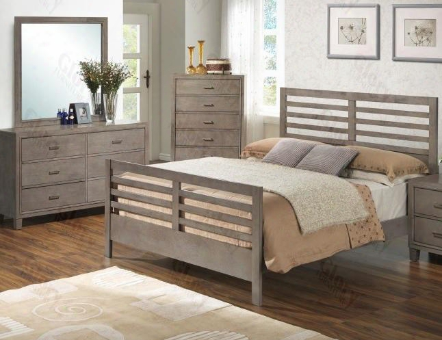 G1205ctb2dm 3 Piece Set Including Twin Bed Dresser And Mirror In