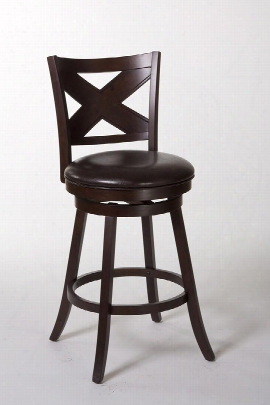 "5209-830 Ashbrook 47"" Polyurethane Upholstered Bar Stool With Wood Frame In"