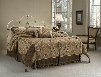 1310BKR Victoria Bed Set - King - w/Rails Antique