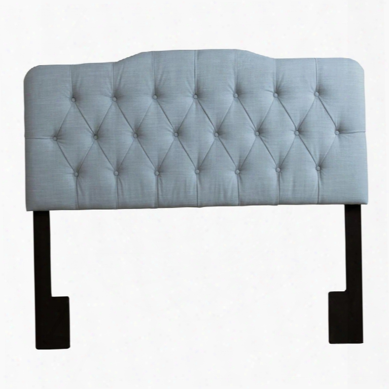 Ds-2534-270-408 King Upholstery Soft Shape Headboard Leisure Seagls In Blue