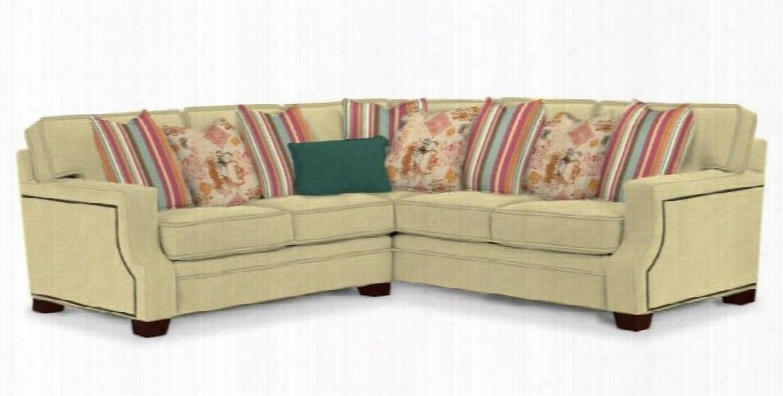 """Kayley 3671-lrlss/8763-83/8946-63/8947-74/8915-34 101"""" Wide 3-piece Sectional Sofa With 8763-83 Body 8946-63 Outer Pillows 8947-74 Inner Pillows 8915-34"""